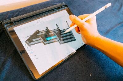 無料のiPadアプリで「立体のDIY設計図」を作ってみた!Shapr:3D
