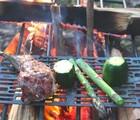 チタン網でキャンプ焼き肉!焼き物におすすめ軽量網Tentocckレビュー!登山で使えるか?