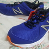 靴を厚木一番街にあるアスビーで買ってもらいました ニューバランス M390