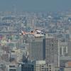 2019年11月2日(土) ふたたびカリッタ汐留46階から朝日新聞東京本社ヘリポートを狙った話 JA01AP「あさどり」