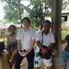 Alangan Mangyanの集落へ sa Baco.