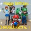 Happy birthday, CHAOSLUIGIさん!