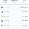 iPhoneのGPS不調【2016年9月7日夜ラン】