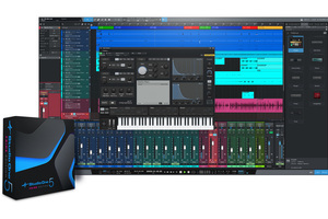 無償DAWソフトPRESONUS Studio One 5 Prime日本語版がリリース