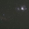 新規開拓地でのオリオン大星雲撮影