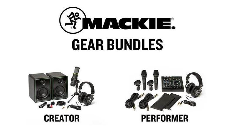 MACKIE.が音楽制作やポッドキャスト/ストリーミング配信に特化したバンドル、Creator BundleとPerformer Bundleを発売
