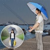 雨の日でも快適写真撮影♪ハンズフリー傘『アタマンブレラ HDUMBHAT』