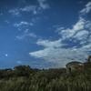 【天体撮影記 第37夜】 時が止まった廃墟と時が進む星々