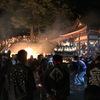"""下大槻健速神社例大祭のクライマックス火祭り""""おおや"""""""
