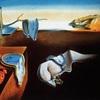 ダリの「記憶の固執」と「記憶の固執の崩壊」