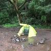 【僕キャンプ】Azarxisのテント(雨泊)
