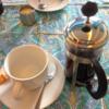 朝が来た。今日もコーヒーがうまい。