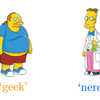 "「おたく」はギークか、ナードか?:On ""Geek"" Versus ""Nerd"" by Slackpropagation"