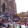 フランス&スペイン旅「ワインとバスクの旅!ボルドーを去る日。サンミッシェル大聖堂の光と蚤の市」