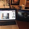 『MacBookとiPad Pro』のテスト(sidecar)|『人生で初めて頂いたサイン入り複製原画』の話