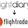 flightdiary → my flighttradar24 になりました。