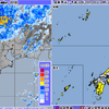 大気が不安定になっている近畿地方では各地で記録的短時間大雨情報が!先日の台風21号で被災した地域は特に要注意!!