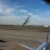 飛行機が飛び交うアメリカの空港でまさかの消火訓練!?