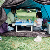 家族で大きい公園へのお出かけが快適になる安くてコンパクトなテントと机を購入して使って大満足