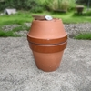 植木鉢は燻製器になりえるのだ。自作の燻製器。コスパ最高で美味しくなんでも燻製。