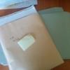 紙類の整理を進めるために封筒システムに挑戦する。