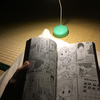 【ダイソー】100均のライトスタンドは実用に耐えうるのか?