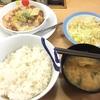 松屋「鶏と白菜のクリームシチュー定食」食の感想