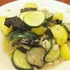 夏野菜と出汁のオリーブのサッと煮