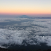 富士山登って、降りて来ました。
