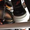 KTM390DUKEのリアサスペンションのプリロードを調整しました。