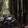 YAMAHA,BMW,KTM千葉の林道遊びしてきた話とバイク人生終了?な話。