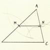 三角形の性質(中線連結定理)