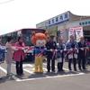 気仙沼の観光巡回バスの出発式