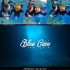 青い海とっても凪です