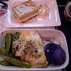 ニュージーランド航空プレエコ:食事編