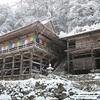 岐阜県最古の寺【高澤観音】に雪が降ったら!?