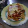 幸運な病のレシピ( 307 )朝:ラザーニャ、煮しめ、イワシ焼