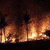 【ハワイ・キラウエア火山】ルアナ通りの地割れからは溶岩が噴水のように噴き上がる!!噴火・溶岩流の噴出も継続!