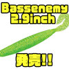 【EVERGREEN】ニュータイプ高比重スティックベイトの新サイズ「Bassenemy 2.9inch 」発売!