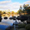 【名古屋観光】徳川園。紅葉と西湖堤と大曽根の瀧。マイナスイオンで癒されよう。