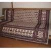 手織りがキュートなマルチカバー ベッドカバーやソファカバーに。