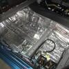 マークXのルーフ・フロア~トランク防音3点セット施工