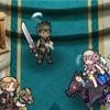一軍の子たちが羽をいっぱい運んできてくれた