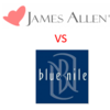 BLUE NILE(ブルーナイル) vs JAMES ALLEN(ジェームス・アレン)ダイヤモンド(婚約指輪)はどちらで買うべき?