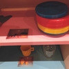 児童館で見つけたステキなおもちゃの収納