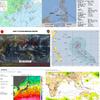 【台風情報】日本の南西には台風の卵である熱帯低気圧が2つ(TD32W・TD33W)存在!そのうちTD33Wが22日06時には台風29号になる見込み!気象庁・米軍・ヨーロッパ中期予報センターの進路予想は?