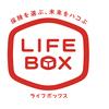 「ほけんショップ LIFE BOX」ロゴマーク。