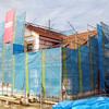 工事103日目:外壁工事進行中