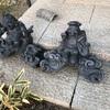 古い瓦も焼き直しする事によって新品と同じいぶしの輝きが蘇ります。