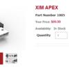 XimApexが海外で発売されました